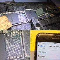 Naprawa iPhone 7 – brak zasięgu